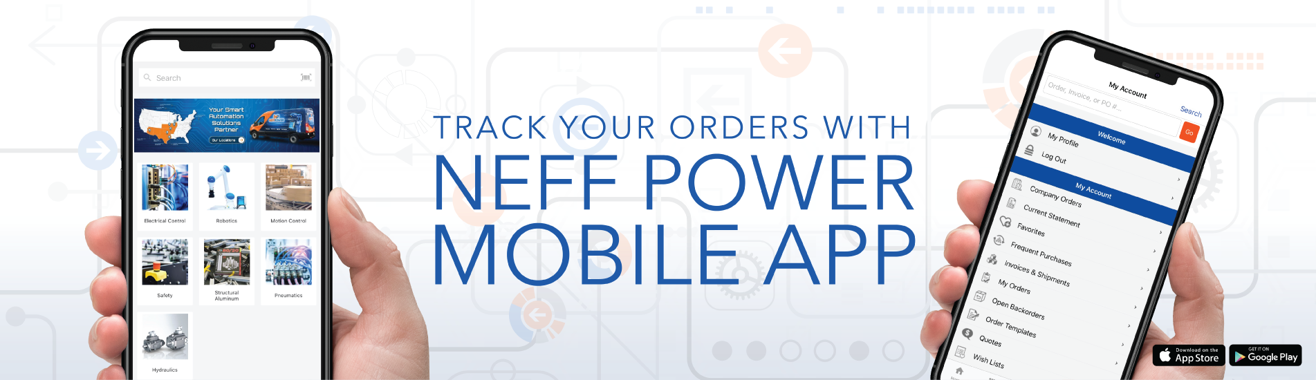 Download the Neff Power Mobile App today