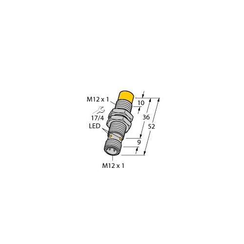 NI10U-M12-AP6X-H1141,1634806,Turck - Plymouth,,1634806 - PROXIMITY
