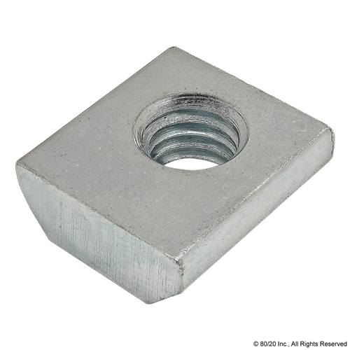 80//20 Inc 13034 40 Series Self-Aligning Roll-in T-Nut with Ball Spring M8 X 1.25