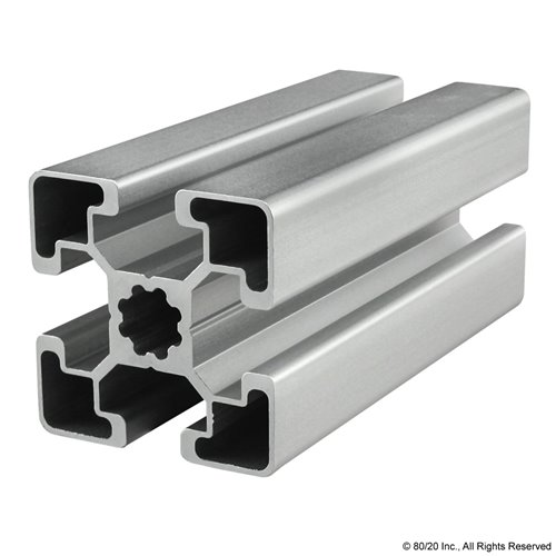 80//20 45mm X 90mm T-Slotted Profile 4m Stock Bar